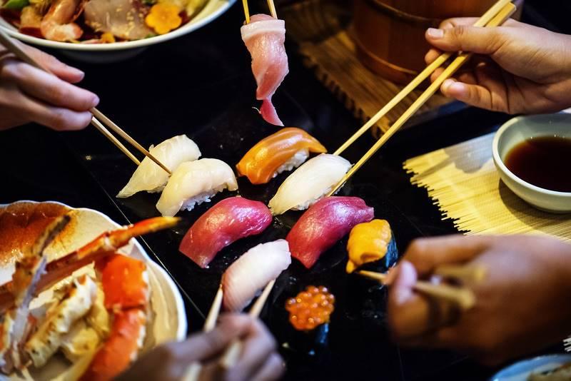 New sushi restaurant