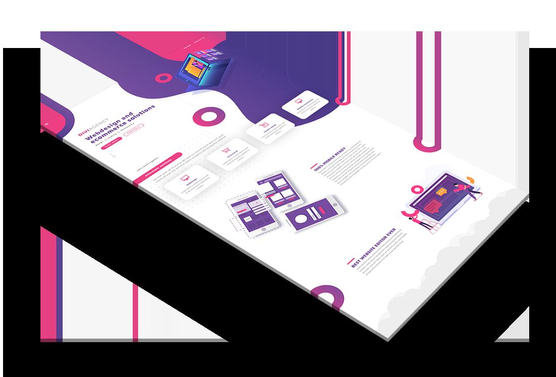 Multipurpose Premium Divi Layouts - Get Web Design